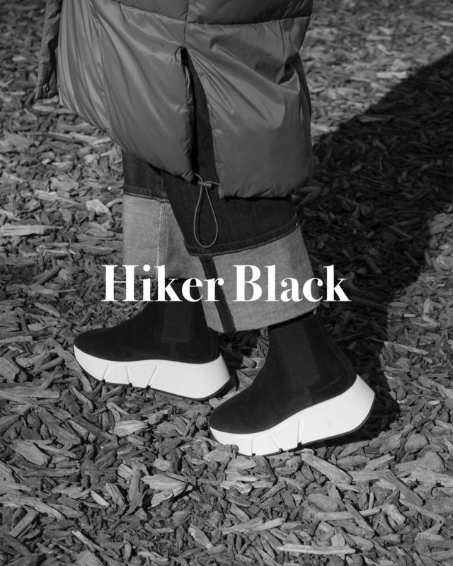 ♟Last units♟ •TALLER, STRONGER, BETTER• ®️HIKER BLACK®️ www.thecutproject.com . #womensneakers #womenshoes #luxuryshoes #thecutproject #thecutprojectshoes #chelseaboots #ankleboots #leatherboots #selvedge  THE CUT PROJECT©️ HIKER®️